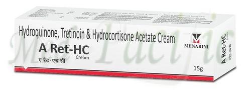 Hydroquinone 2% w/w + Tretinoin 0.05%