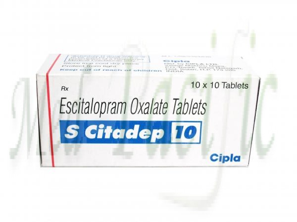S Citadep 10mg - 10 Tablets