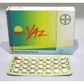YAZ birth control pills
